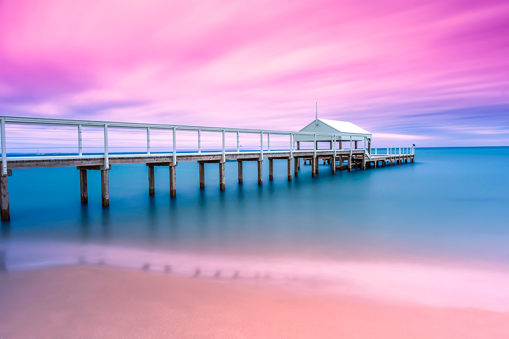 Photograph by professional Patrizia Acco Photographer, Beach, Colours, Summer, Landscape, Beachscape, Seascape, Water, Sunset, Sunrise, Oceans, Sand, Pillions, Piers, Old Jetty, Jetty, Jetties, Bay, Lake, Logs, Harbour, Patience, Peaceful, Stunning, Tranquil, Beautiful, Colourful, Photography, Landscape photographer, Nature, Rocks, Reefs, Boats Harbour, Village City, Town, Mist, Misty, Foggy, Moody, colours, Red, Yellow, Orange, Green, Blue, Aqua, Magenta, Purples, Colourful sky, Reflections, horizon, Stained, Victoria, Australia, Melbourne, Sorrento, Mornington peninsula, Port Phillip Bay,